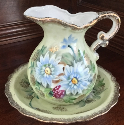 Royal China Pitcher and Plate