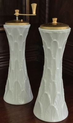 Lenox Acanthus Salt Shaker and Pepper Mill