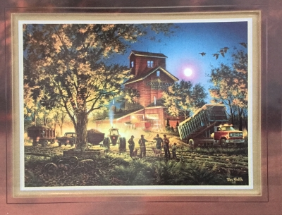 Terry Redlin,  Bountiful Harvest Porcelain Print