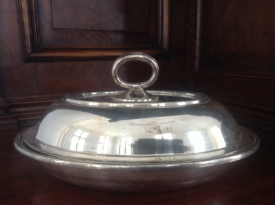Silverplate Serving Dish