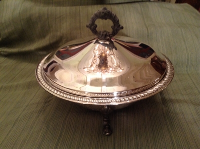 F B Rogers Silverplate Chafing Dish