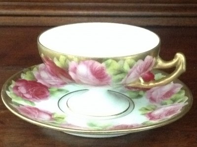 Beyer and Bock Teacup and Saucer
