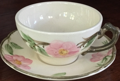 Franciscan Desert Rose Coffee Cup and Saucer