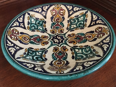 Raised Decorative Bowl