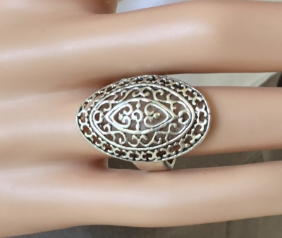 Filigree Ring, Size 6 1/2