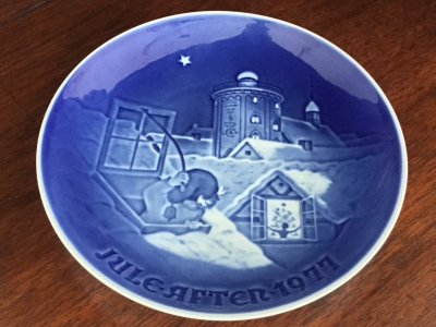 Bing Grondahl Christmas Plate Price List