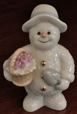 Lenox May Flowers Snowman