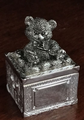 "Gorham ""Square Bear"" Box"