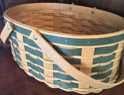 Longaberger Large Oval Basket