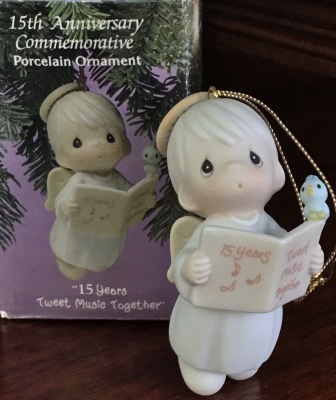 Precious Moments, Tweet Music Together Ornament