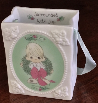 Precious Moments, Surrounded with Joy Ornament