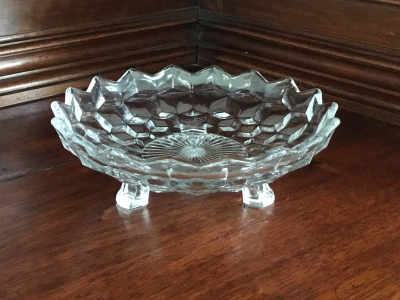 Fostoria Footed Serving Bowl, Set of 2