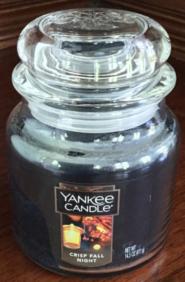 Yankee Candle, Crisp Fall Night Candle