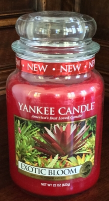 Yankee Candle Exotic Bloom Candle