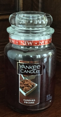 Yankee Candle, Candied Pecans Candle