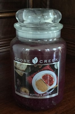 Goose Creek, Peanut Butter & Jelly Candle