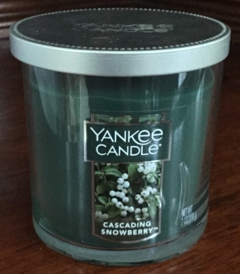 Yankee Candle, Cascading Snowberry Candle