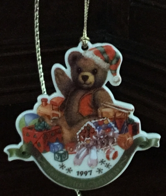 Lenox 1997 Baby's First Christmas Ornament