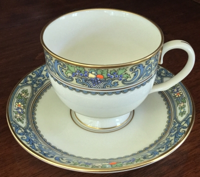 Lenox Autumn Coffee Cup and Saucer