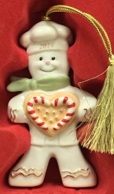 Lenox 2014 Peppermint Love Ornament