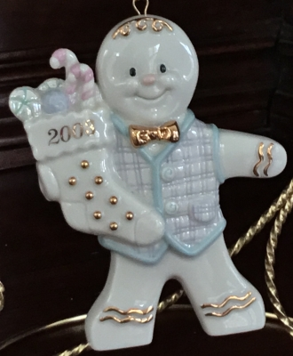 Lenox 2003 Christmas Gentleman Ornament