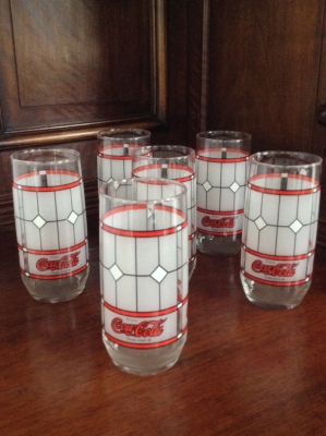 Coca-Cola Glasses, Set of 6