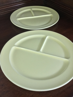 Luray Divided Plates, Set of 2