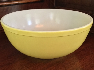Pyrex Yellow Bowl