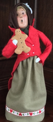 1998 Byers' Choice, Traditional Adult Woman with Gingerbread