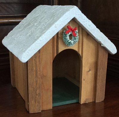 Holiday Doghouse