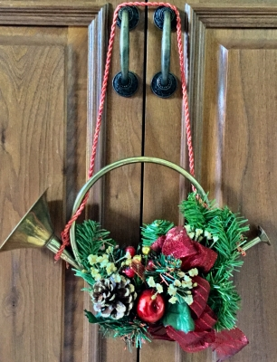 Trumpet and Wreath