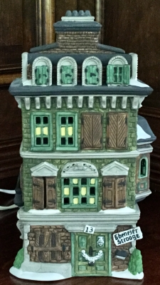 Department 56 Dickens' Village Series, The Flat of Ebenezer Scrooge