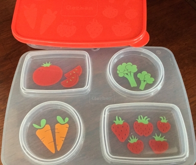 Gerber Silicone MealMat and Storage Case