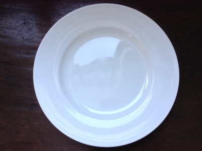 Fitz Home White Plate