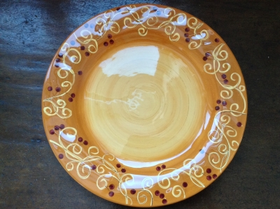 Laurie Gates Aspen Ridge Plate