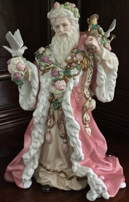 Franklin Mint Father Christmas by Alejandro Lemus