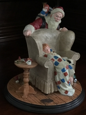 The Rockwell Heirloom Santa Collection, Christmas Dream
