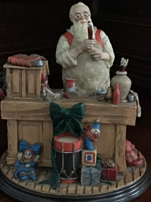 The Rockwell Heirloom Santa Collection, Santa's Workshop