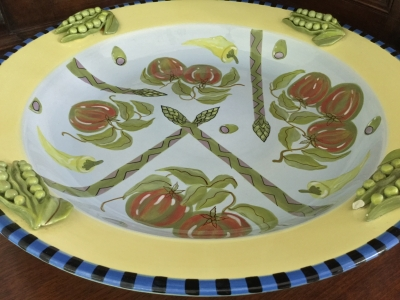 "Capriware ""Vegetable"" Bowl"