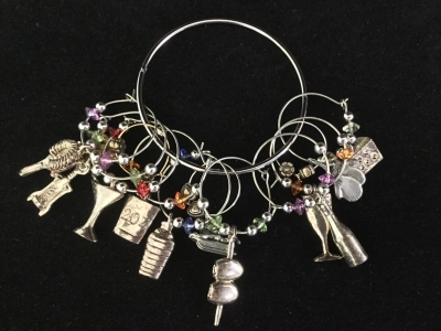 Wine Charms, Set of 12