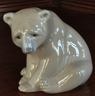 Lladro, Seated Polar Bear