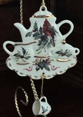 Lenox Tea Set Ornament