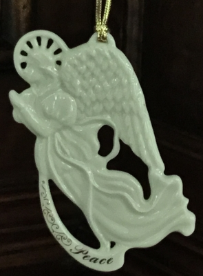 Lenox Angel of Peace Ornament
