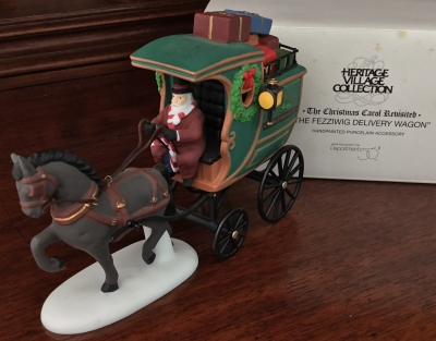 Department 56 Heritage Village Collection, The Fezziwig Delivery Wagon
