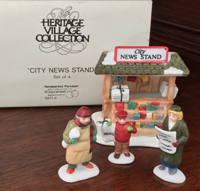 Department 56 Heritage Village Collection, City News Stand