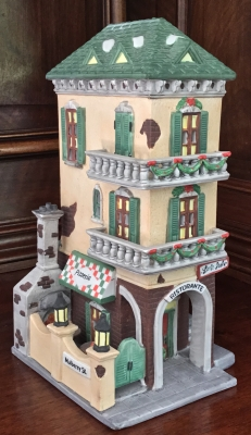 Department 56 Christmas in the City Series, Little Italy Ristorante