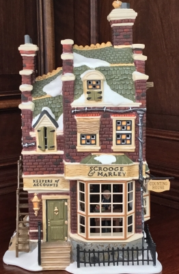 Department 56 Dickens' Village Series, Scrooge & Marley Counting House