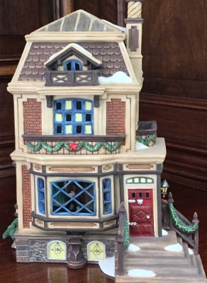 Department 56 Dickens' Village Series, Fred Holiwell's House