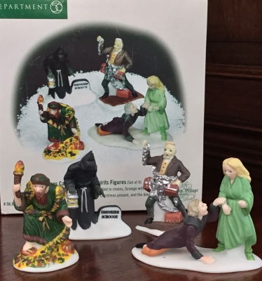 Department 56 Christmas Carol Christmas Spirits Figures