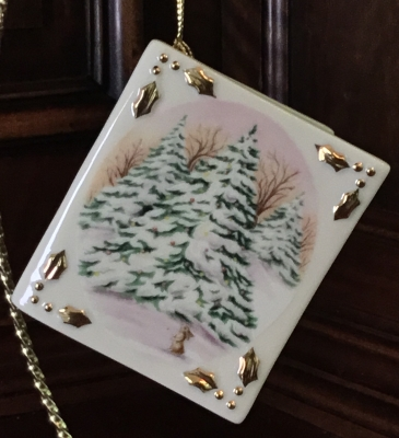Lenox Whispering Tree Ornament